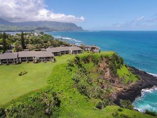 Pali Ke Kua #241: Newly Furnished Ocean View! - Princeville vacation rentals