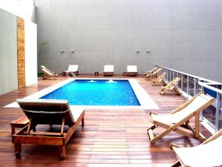 Sunny apartment w/swimming-pool, gym & security - Buenos Aires vacation rentals
