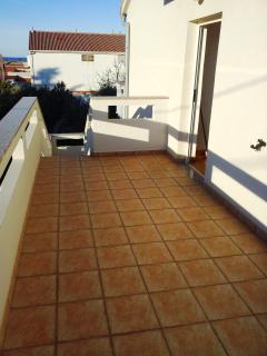 Apartment Boro for 5 with a balcony - Novalja vacation rentals