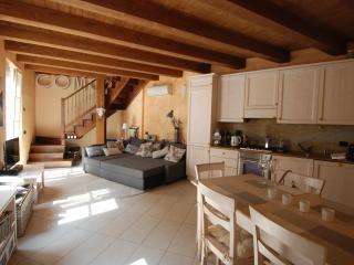 Como city dream: Penthouse duplex apartment w balcony, 5mins from Lake Como, Duomo & train station - Lake Como vacation rentals