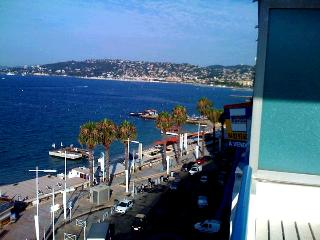 Cote d' azur Condo Right on Ocean Amazing View... - Juan-les-Pins vacation rentals