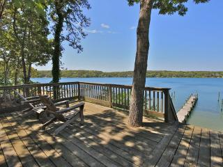 NADEO - Chic Waterfront Retreat, Private Dock and Waterfront Deck, Media Room with Drop Down Screen - Oak Bluffs vacation rentals