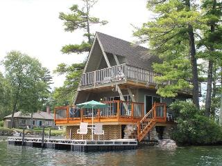 A-Frame Island Bungalow at Oliver Lodge on Lake Winnipesaukee (1AFRAME) - Lake Winnipesaukee vacation rentals