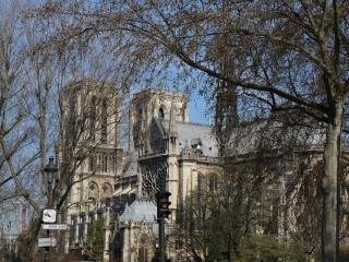 Facing NOTRE-DAME ! PARISIAN style studio ! - Paris vacation rentals