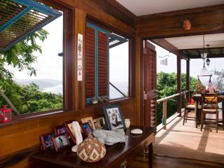 A cool house among the trees with sea views of t - Bathsheba vacation rentals