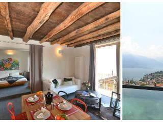 Gorgeous 1 bedroom Pianello del Lario Condo with Shared Outdoor Pool - Pianello del Lario vacation rentals