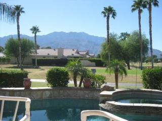 GORGEOUS THREE BEDROOM VILLA WITH PRIVATE POOL & SPECTACULAR VIEWS ON W - Cathedral City vacation rentals