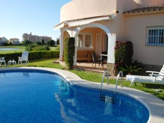 Beach 3Bdr Villa with Private Pool and Golf View - Oliva vacation rentals