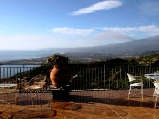 Luxury two-story apartment with amazing sea view - Taormina vacation rentals