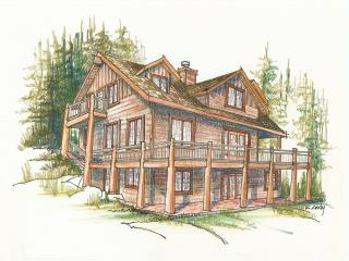 Bright 5 bedroom Cabin in Allenspark with Deck - Allenspark vacation rentals