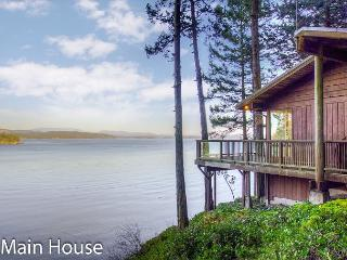 Waterfront Privacy with 3 Homes Totaling 7 Bedrooms and 6 Bathrooms! - Friday Harbor vacation rentals