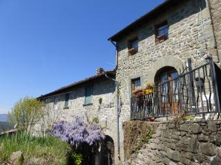 Stone cottage in Tuscan hills with beautiful view - Bagni Di Lucca vacation rentals