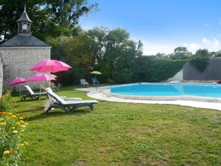 Enchanting mansion with private pool - Neuille vacation rentals