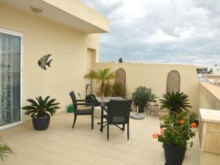 Elegant 2 bedroom penthouse - Swieqi vacation rentals