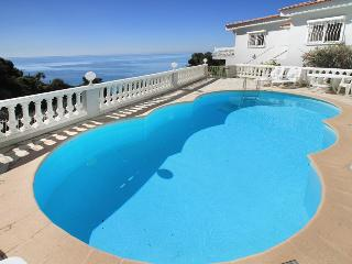 1544 Cote d'Azur villa with private pool by sea - Eze vacation rentals
