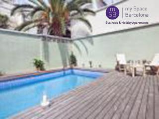 Apt w/great terrace and pool - Barcelona vacation rentals