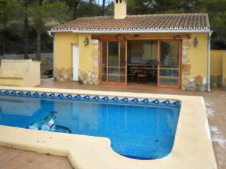 Villa with mountain views and pool - Orba vacation rentals