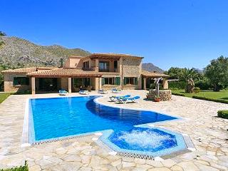 Beautiful 5 bedroom House in Cala San Vincente with DVD Player - Cala San Vincente vacation rentals