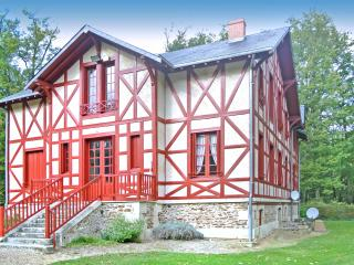 Nice House with DVD Player and Fireplace - La Guerche vacation rentals
