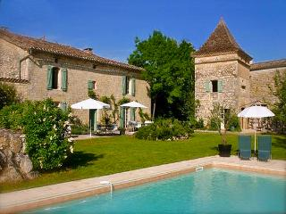 Beautiful House with Internet Access and Private Outdoor Pool - Bernac vacation rentals