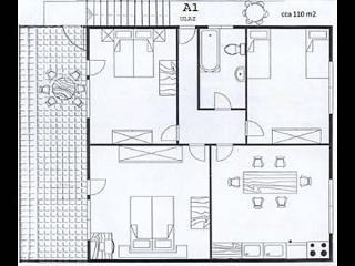01106ROGO A1(6+2) - Cove Kanica (Rogoznica) - Cove Kanica (Rogoznica) vacation rentals