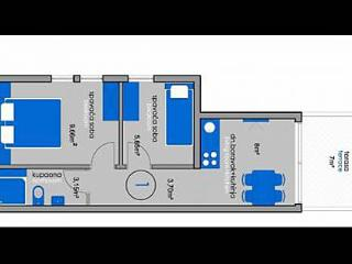 2717  A3(4) - Povljana - Povljana vacation rentals