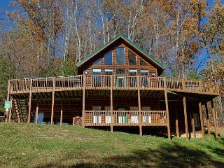 8 Bedroom Private Log Cabin Lodge in The Smoky Mountains for Large Groups - Gatlinburg vacation rentals