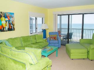 Tastefully Decorated 3rd Floor Oceanfront Condo! Great Views! - Pine Knoll Shores vacation rentals
