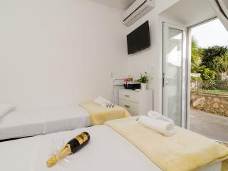 Apartments Kapelica - Twin or Double Room with Terrace and Sea View - Dubrovnik vacation rentals