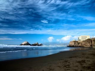 Amazing OCEANFRONT View Private Balcony 2bd 2bth - San Francisco vacation rentals