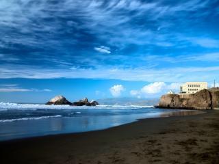 SPECIAL!  slps 4  TOP FLOOR SWEEPING OCEANFRONT VIEW 2bd 2bth - San Francisco vacation rentals