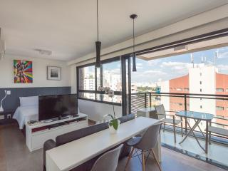 Nice Studio with Deck and Internet Access - Sao Paulo vacation rentals