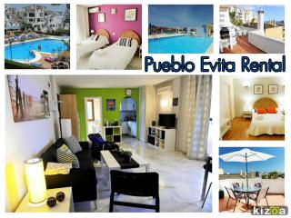 Evita Estates Superb 2 bedroom apt at Pueblo Evita - Benalmadena vacation rentals