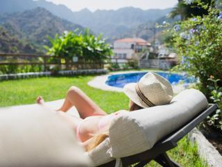 Los Telares - Cosy apartment with balcony and views to Garajonay - Hermigua vacation rentals