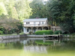 Lakefront with 2 wood burning fireplaces & canoe. - Lake Lure vacation rentals