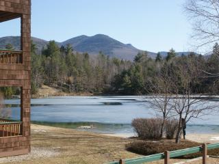 Lakeside walkout to beach Deer Park Woodstock NH - North Woodstock vacation rentals