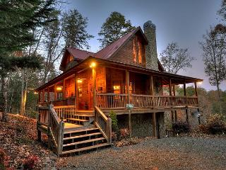 """Almost Heaven"" is in the North Georgia Mountains with year around Mtn Views - Mineral Bluff vacation rentals"