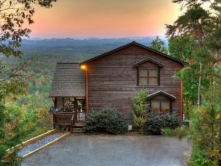 """The View"" This is the cabin you have been looking for. The name says it all - Blue Ridge vacation rentals"