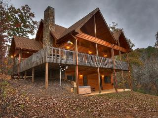 Cozy New Cabin nestled on 5 Acres, Year Around Mtn Views, WIFI - Mineral Bluff vacation rentals