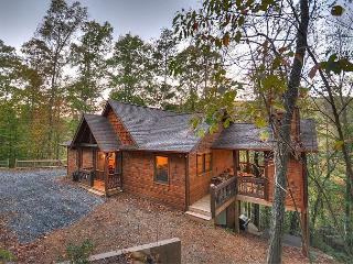 North Georgia Cabin Rental with Waterfall, Firepit, Outdoor Fireplace - Blue Ridge vacation rentals