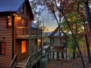 Breathtaking Cabin - Long Range View- Hot Tub- Game Room- 3 bedrooms - Blue Ridge vacation rentals