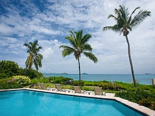 Private villa next to a shared tennis court, this villa overlooks the beach and its own pool. VG CAR - Mahoe Bay vacation rentals