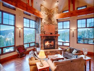 Luxurious Slope Side Lodge for Spacious Group - Amazing Views of The Continental Divide (13592) - Breckenridge vacation rentals