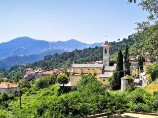 Spacious one-bedroom apartment in a scenic village in Upper Corsica, with beautiful mountain views - Venaco vacation rentals