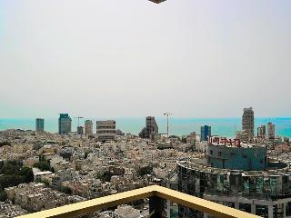 Dizingoff tower - can't beat that view - Tel Aviv vacation rentals