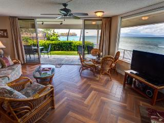 MAUI OCEANFRONT 2-BEDROOM/BATH BEACH HOUSE CONDO - Napili-Honokowai vacation rentals
