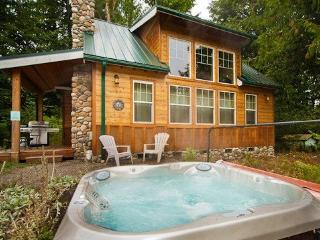 #11 Family Vacation Cabin with a Private Hot Tub! - Glacier vacation rentals
