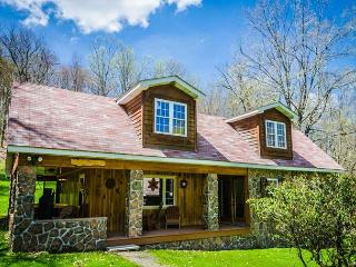 OVR's Pura Vida- Beautiful 3 Bedroom Lodge located IN Ohiopyle State Park! - Ohiopyle vacation rentals