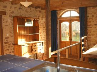 La Grange is part of a converted barn in a rural s - Saint-Vaury vacation rentals