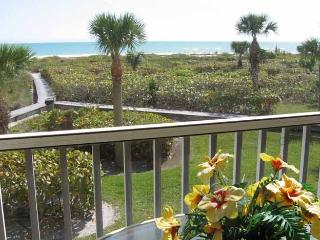 Gulf Beach -Gulf Front Condo - Panoramic View on Quiet Beach April Special $2595 - Sanibel Island vacation rentals